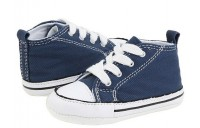 Hot Sale Converse Kids Chuck Taylor® First Star Core Crib (Infant/Toddler) Navy Canvas