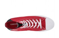 Christmas Deals 2019 - Converse Chuck Taylor® All Star® Color Block Patch Hi Enamel Red/Black/White