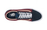 Vans Old Skool™ (Textured Suede) Sailor Blue/Port Black Friday Sale