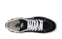 [ Hot Deals ] Vans SK8-Hi™ (Blur Check) Black/Classic White