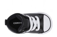 Converse Kids Chuck Taylor All Star Street - Mid (Infant/Toddler) Black/Black/White