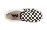 [ Hot Deals ] Vans Kids Classic Slip-On (Little Kid/Big Kid) (Checkerboard) Black/White