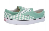[ Hot Deals ] Vans Era™ (Checkerboard) Neptune Green/True White