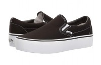 Buy Vans Classic Slip-On Platform Black