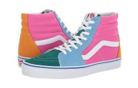 [ Hot Deals ] Vans SK8-Hi™ (Suede/Canvas) Bright Multi