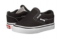 [ Black Friday 2019 ] Vans Kids Classic Slip-On Core (Toddler) Black