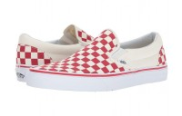 Vans Classic Slip-On™ (Primary Check) Racing Red/White Black Friday Sale