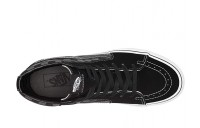 [ Hot Deals ] Vans SK8-Hi™ Core Classics (Checkerboard) Black/Pewter