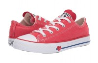 Hot Sale Converse Kids Chuck Taylor All Star Denim Love - Ox (Little Kid) Sedona Red/Enamel Red/Blue