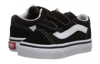 [ Hot Deals ] Vans Kids Old Skool V Core(Toddler) Black