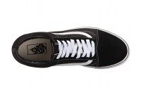 Vans Old Skool Platform Black/White Black Friday Sale