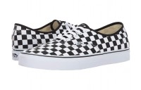 Vans Authentic™ (Checkerboard) Black/True White Black Friday Sale
