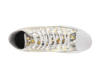Christmas Deals 2019 - Converse Chuck Taylor All Star Sequined - Hi Pure Silver/Gold/White