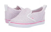 Buy Vans Kids Slip-On V  (Toddler) (Glitter Stars) Black/True White