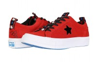 Black Friday Converse Hello Kitty® One Star Ox Firey Red/Black Sale