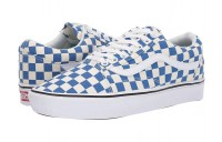[ Hot Deals ] Vans Comfycush Old Skool (Checker) Lapis Blue/True White