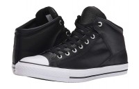 [ Hot Deals ] Converse Chuck Taylor® All Star® Hi Street Leather Black/White
