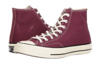 [ Hot Deals ] Converse Chuck Taylor® All Star® '70 Hi Dark Burgundy/Black/Egret