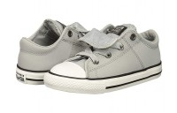 [ Hot Deals ] Converse Kids Chuck Taylor All Star Maddie - Ox (Infant/Toddler) Wolf Grey/Black/White