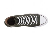 Black Friday Converse Chuck Taylor® All Star® Seasonal Color Hi Utility Green/Teak/White Sale