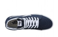 [ Hot Deals ] Vans SK8-Hi™ (Canvas) Dress Blues/True White