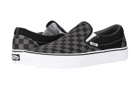 [ Black Friday 2019 ] Vans Classic Slip-On™ Core Classics (Checkerboard) Black/Pewter
