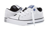 Hot Sale Converse Kids Chuck Taylor All Star Street Uniform - Slip (Little Kid/Big Kid) White/Blue/Black