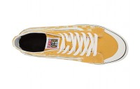 Christmas Deals 2019 - Vans SK8-Hi 138 Decon SF (Distressed Checkeroard) Yolk Yellow