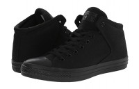 [ Black Friday 2019 ] Converse Chuck Taylor® All Star® High Street Mono Canvas Hi Black/Black/Black