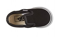 Vans Kids Classic Slip-On Core (Toddler) Black Black Friday Sale