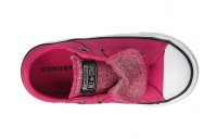 Converse Kids Chuck Taylor All Star Maddie - Ox (Infant/Toddler) Pink Pop/Black/White