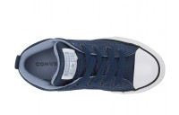 Black Friday Converse Kids Chuck Taylor All Star Street Uniform - Mid (Little Kid/Big Kid) Navy/Indigo Fog/White Sale