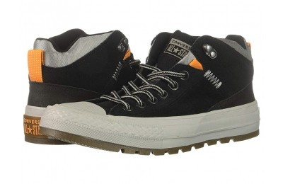 [ Hot Deals ] Converse Chuck Taylor All Star Street Boot - Hi Black/Black/Dolphin