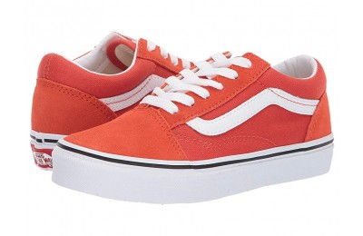 [ Hot Deals ] Vans Kids Old Skool (Little Kid/Big Kid) Koi/True White