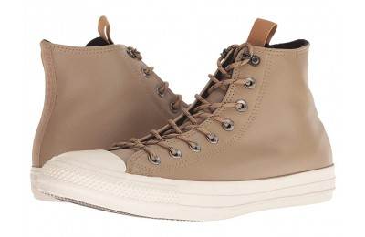 [ Hot Deals ] Converse Chuck Taylor All Star Leather - Hi Teak/Black/Driftwood