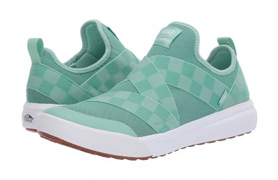 [ Hot Deals ] Vans UltraRange Gore (Mega Check) Neptune Green