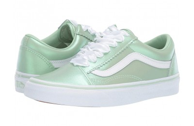 Vans Old Skool™ (Pearl Suede) Pastel Green/True White Black Friday Sale
