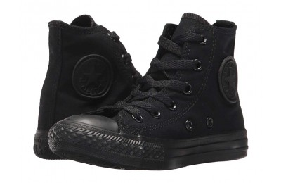 Hot Sale Converse Kids Chuck Taylor® All Star® Core Hi (Little Kid) Black/Monochrome