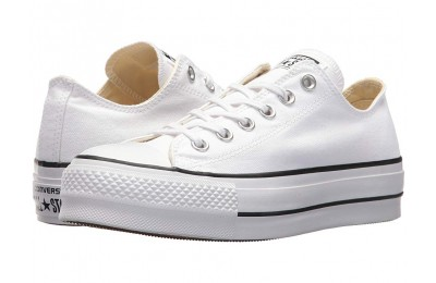 [ Hot Deals ] Converse Chuck Taylor® All Star Canvas Lift White/Black/White