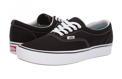 Vans ComfyCush Era (Classic) Black/True White Black Friday Sale