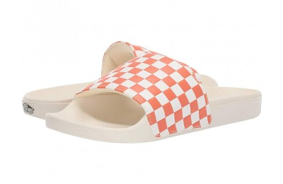 [ Hot Deals ] Vans Slide-On (Checkerboard) Carnelian