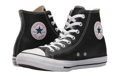 [ Hot Deals ] Converse Chuck Taylor® All Star® Leather Hi Black