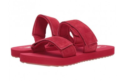 [ Hot Deals ] Vans Cayucas Slide (Suede) Tango Red