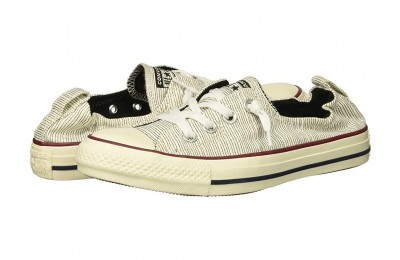 [ Hot Deals ] Converse Chuck Taylor All Star Shoreline - Prep Style Slip Black/Egret/Egret