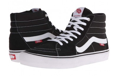 Vans SK8-Hi™ Pro Black/White Black Friday Sale