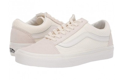 Vans Old Skool™ (Woven Check) Marshmallow/Snow White Black Friday Sale
