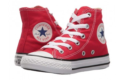 [ Black Friday 2019 ] Converse Kids Chuck Taylor® All Star® Core Hi (Little Kid) Red