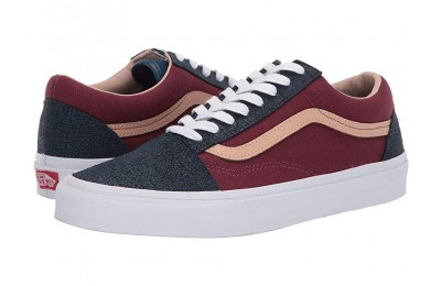 [ Hot Deals ] Vans Old Skool™ (Textured Suede) Sailor Blue/Port