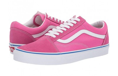 [ Hot Deals ] Vans Old Skool™ (Suede/Canvas) Carmine Rose/True White