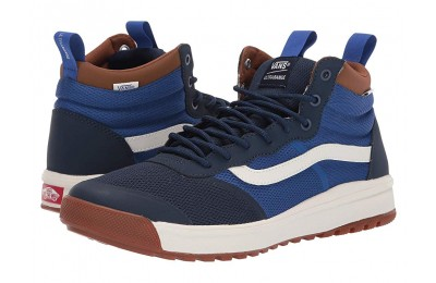 [ Hot Deals ] Vans UltraRange™ Hi DL Dress Blues/Dachshund